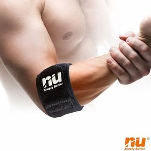 【海夫健康生活館】NU恩悠數位 鈦鍺能量 冰紗護肘束帶