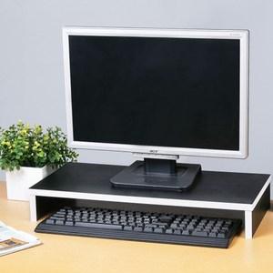 Homelike 輕型桌上螢幕架-黑色