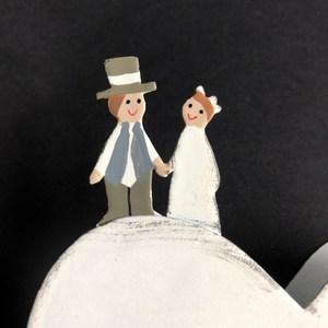 Baden「我們連在一起」婚禮小物memo夾「我們連在一起」婚禮小物memo夾