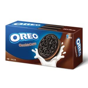 OREO 奧利奧巧克力口味夾心餅乾(266g)x12入 箱購