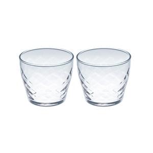 日本TOYO-SASAKI Rufure玻璃水杯 210ml-2入組