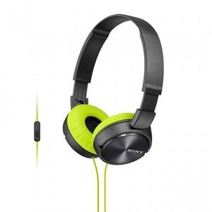 SONY MDR-ZX310AP 摺疊耳罩式立體聲耳機  灰黃色