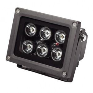 LED 6珠10W方型投射燈 (白光)