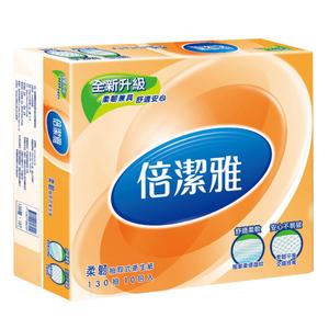 PASEO倍潔雅優雅抽取式衛生紙130抽*80包/箱