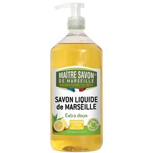 【法國玫翠思】馬賽液體皂1000ml(檸檬馬鞭草) -3入