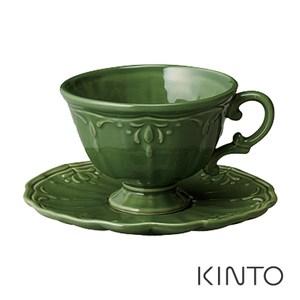 日本KINTO COURONNE杯盤組-綠