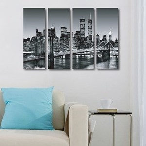 TROMSO瑞典時尚無框畫/紐約鐵橋迷你款
