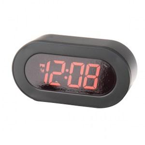 簡約風格插電式LED桌鬧鐘