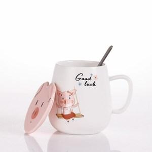 可愛卡通豬豬馬克杯 CI-Q43