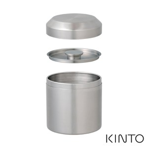 日本KINTO LT不銹鋼茶罐450ml