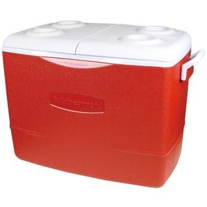 Rubbermaid 美國製冰桶 50Qt 紅色款