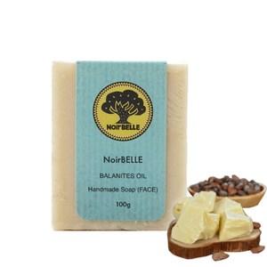 【Noirbelle 諾蓓樂】乳木果油滋潤洗臉皂100g(1入)