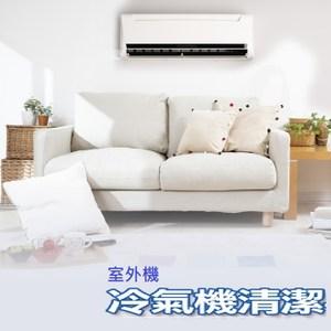 【特力屋好幫手】分離式冷氣室外機清潔