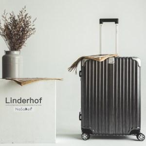 NaSaDen22吋鋁框行李箱-林德霍夫系列-5色可選林德霍夫系列-柏林黑