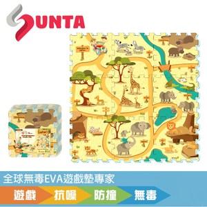 SUNTA拼接墊動物樂園32*32*1(9片)