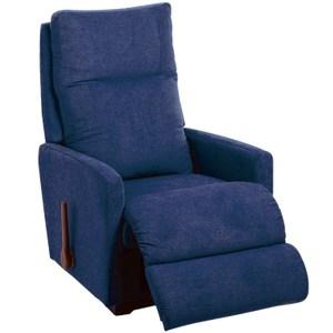 La-Z-Boy 搖椅式休閒椅 10T705 布款 藍色