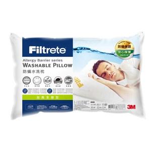 Filtrete 防螨水洗枕-加高支撐型