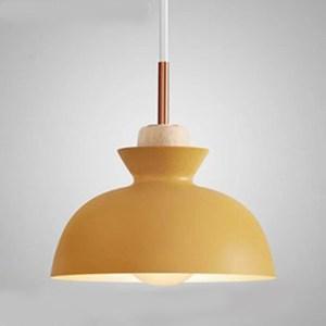HONEY COMB 北歐風馬卡龍單吊燈 三色款 黃色 TA8818