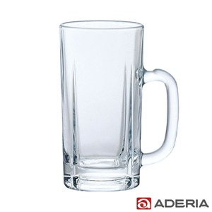 【ADERIA】日本進口玻璃啤酒杯 800ml - 豪飲款