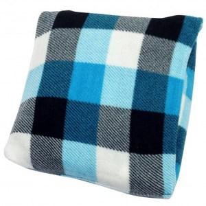 可收納印花隨身毯 180x150x0.2cm 藍調款式