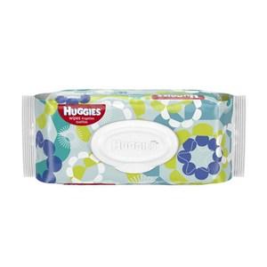 美國原裝進口 美國 Huggies 柔濕巾 小黃瓜+茶樹(56片)*24