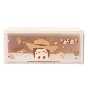 HOLA 迪士尼系列 Toy Story 單層堆疊抽屜櫃 寬55cm 胡迪 Woody