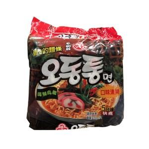 韓國不倒翁拉麵海鮮烏龍120gx5