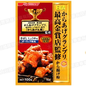 日本日清炸物粉醬油香蒜味100g