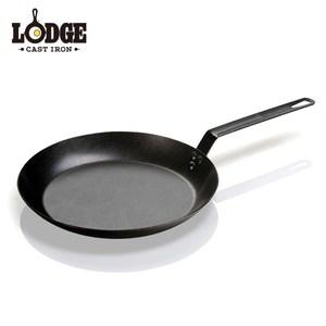 【美國Lodge】單柄碳鋼煎鍋 30公分/12吋
