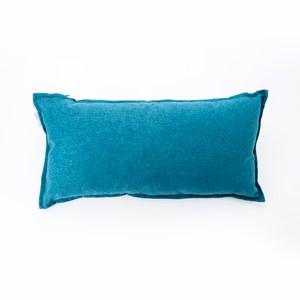 HOLA 素色磨毛羽絲棉抱枕30x60cm 藏藍