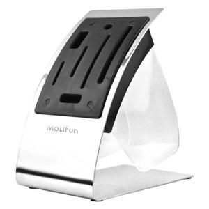 MoLiFun魔力坊 時尚素雅C型白鋼置刀架