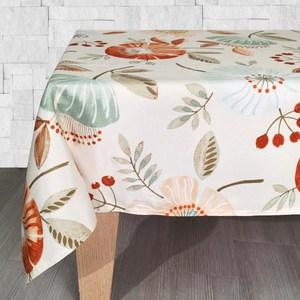朵花印花桌巾120x120cm