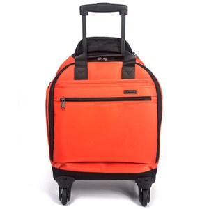YESON - 13吋 四輪 防潑水多功能登機箱-二色可選MG-988紅