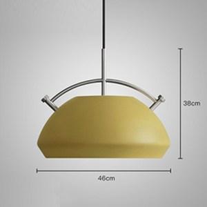 HONEY COMB 法式馬卡龍設計款單吊燈 A款 黃色  TA8809