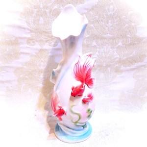 HONEY COMB 浮雕金魚花器 FH01