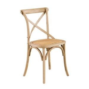 【YFS】西西里白橡木餐椅-54x52x89cm(2入組)