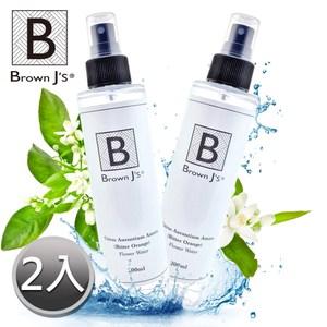 【Brown J's】橙花植萃純露 水嫩保濕補水(200ml)-兩入組