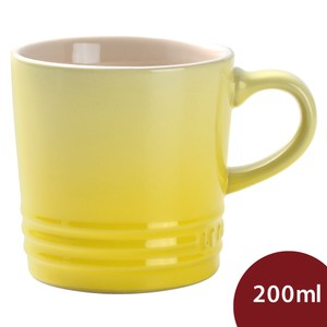 Le Creuset馬克杯 咖啡杯 茶杯 200ml 太陽黃