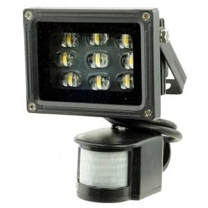 BCC 12W LED超廣角感應燈(暖白光)