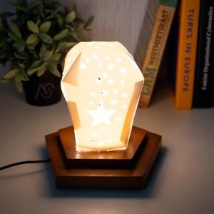 【YFS】五角造型燈-8.5x11.5x18cm