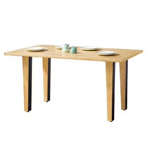 【YFS】達倫實木4.3尺餐桌-130x80x75.5cm