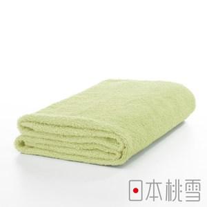 日本桃雪【精梳棉飯店浴巾】芥黃