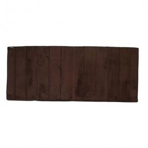 Microdry 舒適記憶棉地墊61x147cm 巧克力