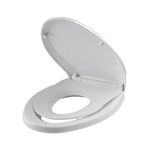 子母式緩降馬桶蓋 通用型 白