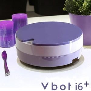 【Vbot】二代i6蛋糕機器人 超級鋰電池智慧掃地機 極淨濾網型-藍莓藍莓