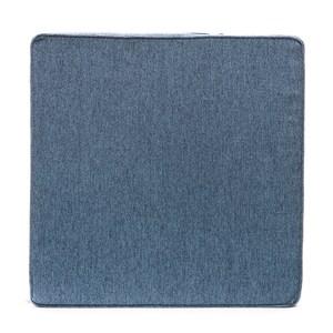 HOLA 斜紋滾邊坐墊55x55x15cm 靛藍色