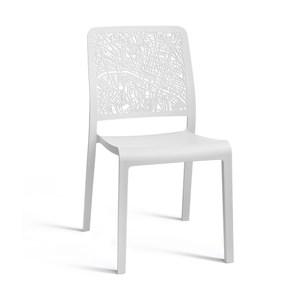 Allibert 城市戶外單椅 白