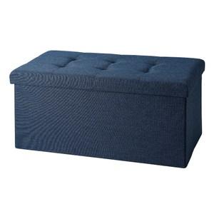 折疊收納椅 雙人 星空藍