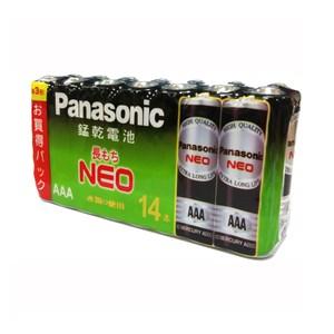 panasonic 黑錳4號電池14入