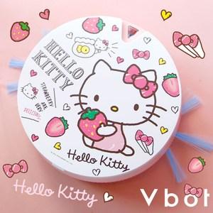Vbot x Hello Kitty i6+草莓牛奶蛋糕 掃地機器人 尺寸約:23.5cm